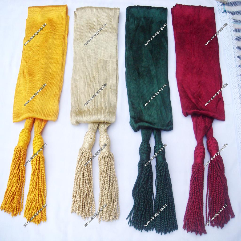 Civil War Silk Sash