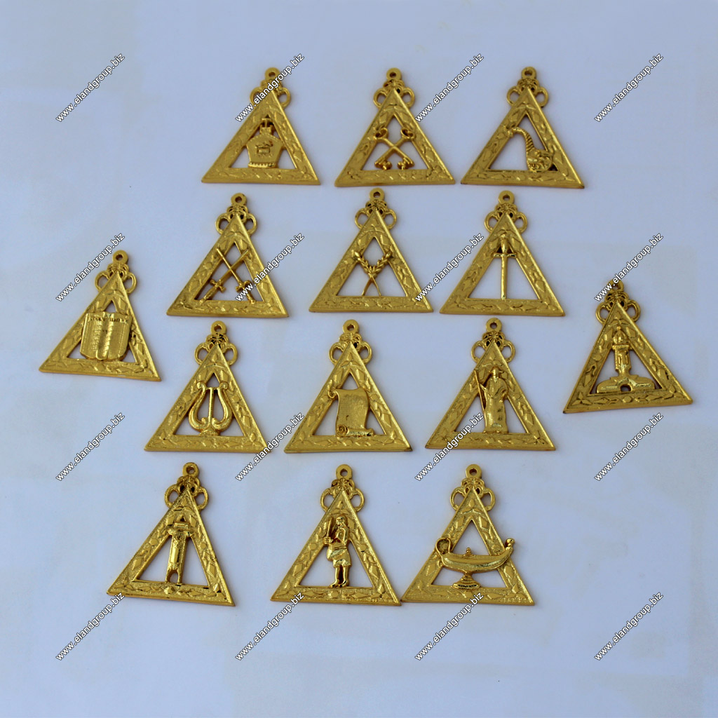 Masonic Regalia Jewels